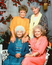 Golden Girls 16x20 Canvas Giclee Bea Betty White Rue Getty