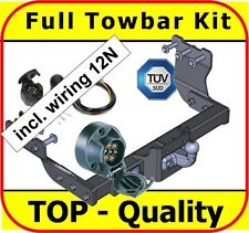 Towbar & Electric 12N Ford Transit without Rear Step 2000 - on / flange ball