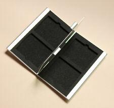 Compact Flash Memory Card Protecter Box Storage Case Holder 4x CF Aluminum