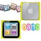 Housse etui coque silicone jaune iPod Nano 6 6G