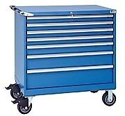 LISTA XSHS0750-0701M - HS750 7-Drawer Mobile Toolbox Storage Cabinet