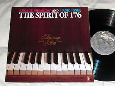 GEORGE SHEARING and HANK JONES Spirit of 176 NM Concord Jazz 1987 PROMO