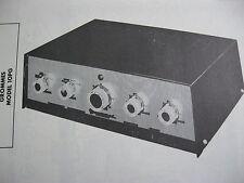 GROMMES 10PG AMP AMPLIFIER PHOTOFACT
