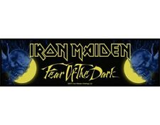 IRON MAIDEN fear of the dark 2011 - WOVEN STRIP SEW ON PATCH official (sealed)