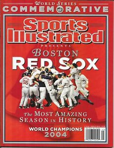Sports Illustrated 2004 BOSTON RED SOX World Series NEWSSTAND Mint NEVER OPENED