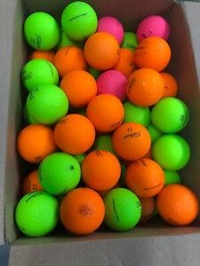6 dozen Titleist Velocity Matte Finish 3A/4A Mixed Colors