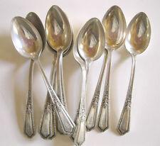 """Towle D'Orleans 5"""" Demitasse SPOONS Coffee Spoon Sterling Silver H Monogram"""