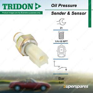 Tridon Oil Pressure Light Switch for Ford Explorer LTD BA BF Territory Courier