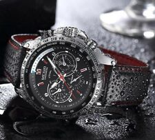 Montre Sport Megir Top Marque Bracelet cuir Homme Fashion Men Watch Promo