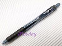 6 x Pentel BL-105 Energel 0.5mm Extra Fine Roller Ball Pen, BLACK