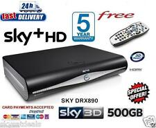 SKY + HD BOX Ricevitore Satellitare 500GB AMSTRAD drx890 3D Ready