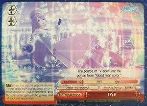 """Weiss Schwarz DIVA Card PD/S22-072 CR """"DYE"""" Megurine Luka Eternal White [JP]"""
