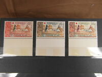 x 3 STAMPS BRIEFMARKEN TIMBRES LAOS 1967 LAO RED CROSS CROIX ROUGE neuf new