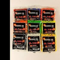 1,000 AIRSOFT BBs Pellets 6mm .12g BB For Pistol Gun Rifle AMMO DIFF COLOR AVAIL
