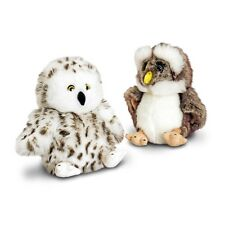 18cm Owl Soft Toy 2 Assorted Colours - Keel Toys Barn Bird Cute New Gift Wild