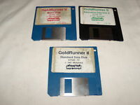 Gold Runner II (Atari ST, 3.5 floppy disks)