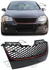FRONT GRILL FOR VW GOLF 5 V 05-08 GTI LOOK NO EMBLEM SPOILER BODY KIT NEW