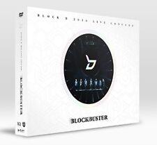K-POP Block B 2016 LIVE CONCERT BLOCKBUSTER DVD 2Disc + 64p Photobook Sealed