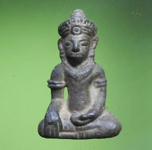 PERFECT! OLD THAI BUDDHA AMULET PHRA NARAYANA LOPBURI VERY NICE