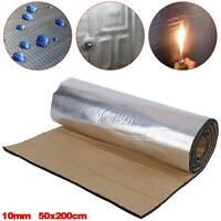 200cm Roll 10mm Closed Cell Foam Car Sound Deadening Heat Thermal Insulation Mat