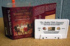 SHABBAT BIBLE COMPANION cassette tape Chaim Fogelman 2000 Jewish Grace & Meals
