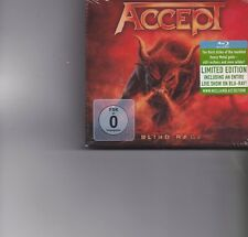 Accept-Blind Rage Cd+Blue Ray album Boxset sealed
