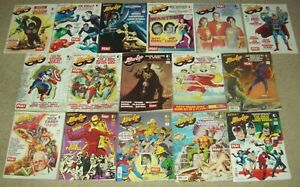 Lot of 16 issues ALTER EGO #51-71 TwoMorrows magazines comics fanzines Timely DC