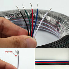 5M RGBW5pin connector wire5channel extend cable5050RGBW led strip conector strip