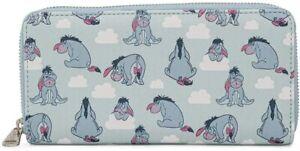 Disney Winnie the Pooh Eeyore Zip Around Wallet
