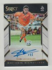 2017-18 Panini Select Soccer Auto card :Marc Overmars #91/99