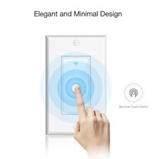 Smart WIFI Wall Switch Touch Remote Controller For Alexa Google Home Life Tuya