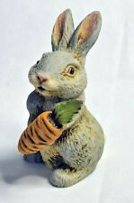 Harmony Kingdom Artist Neil Eyre Eyredesigns Easter Grey Bunny Rabbit Carrot Le