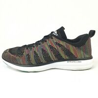 Lululemon APL Techloom Pro Men's Black Rainbow Multicolor Shoes Sz 9.5 Very Rare