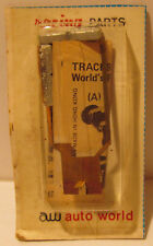 Auto World Tracksticker Pan for Standard AFX, 1974 Carded, Magnets Loose in Card