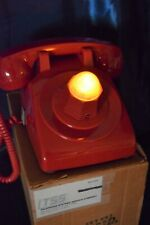 Batphone Rings / Summons With Flashing Red Neon Lamp
