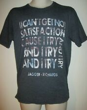 Rock & Roll Hall of Fame No Satisfaction Shirt S Rolling Stones Jagger Richards