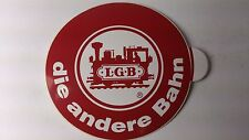 Original LGB 8.5 cm Diameter Window Sticker 06 - die andere Bahn (PL)