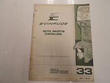 1970 Evinrude 33 hp Ski Zwilling Modelle 33002M 3M 33052M 53M Teile Anleitung Å