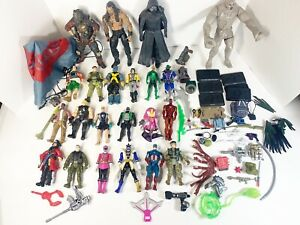 Junk Drawer Lot Of Action Figures And Accessories 71 Pieces Gi Joe Power Rangers