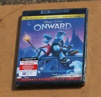 DISNEY ONWARD 4K ULTRA HD + BLU-RAY + DIGITAL CODE BRAND NEW