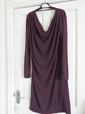 MAMALICIOUS MIMI LONG SLEEVED  DRESS FUDGE BNWT SIZE M (10)