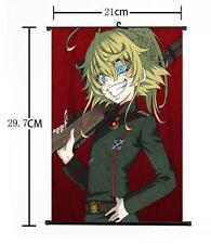 "Hot Japan Anime Saga of Tanya the Evil Home Decor Wall Scroll 8""×12"" 09"