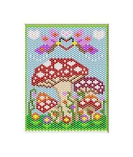 HAPPY SUMMER DAY~LARGE PONY BEAD BANNER PATTERN ONLY