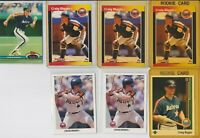 Lot of 7 Craig Biggio Cards w/ 4 rookie RC 1989 Upper Deck Donruss Astros