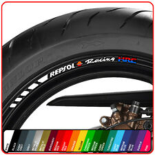HONDA REPSOL RACING wheel rim stickers decals - 20 colours - cbr fireblade 1000
