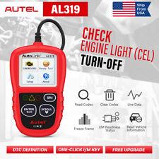 Autel Autolink AL319 OBD2 OBD CAN Code Reader Engine Light Check MIL Turn-off US