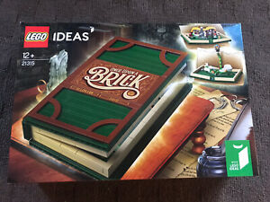 NEW SEALED LEGO IDEAS 21315 BRICK TALES POP UP BOOK FREE SHIPPING