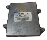 2005 - 2008 Chevrolet Aveo ECM ECU Engine Control Module   96889682