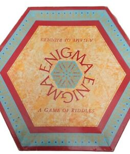 Drumond Park Enigma - A Game Of Riddles 1988 Board Game