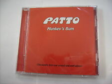 PATTO - MONKEY'S BUM - CD NEW SEALED 2017